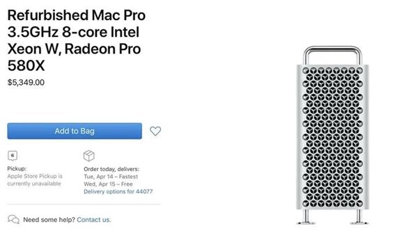 买吗?全球最贵台式机Mac Pro出翻新版:最高便宜近3万元
