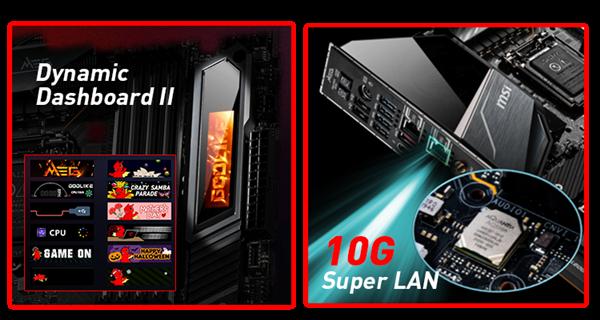 微星宣布Intel 400系列主板全家桶:10层PCB板、ARGB崇奉灯