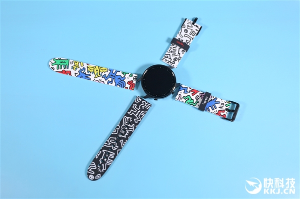 幼米手外Color Keith Haring联名款图赏:双外带 潮流涂鸦