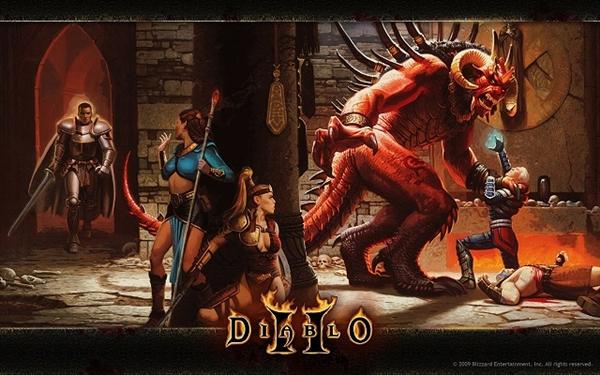 《暗黑破坏神2》重制版细节曝光:高清画质呈现