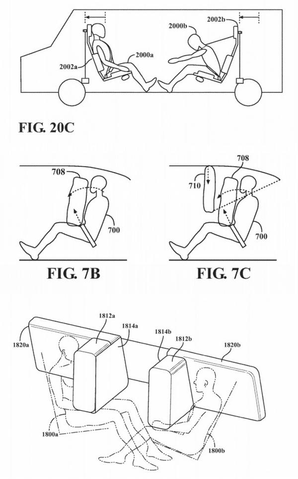 苹果Apple Car专利曝光:要改变人们驾驶、乘坐方式 你怎么看?