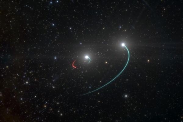肉眼可见!离地球只有1000光年的黑洞居然长这样
