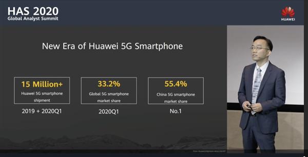 中國每賣兩臺5G手機就有一臺華為!華為5G手機美國零件僅剩1%