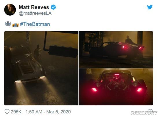 新《蝙蝠侠》蝙蝠车细节展现 网友:老爷破产了?