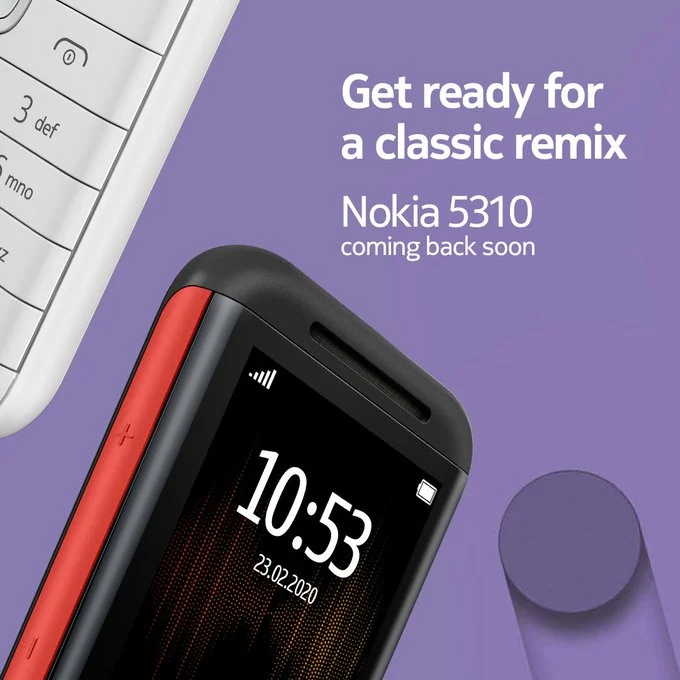 官宣!诺基亚5310将推出:联发科芯片 蓝牙、无线FM应有尽有