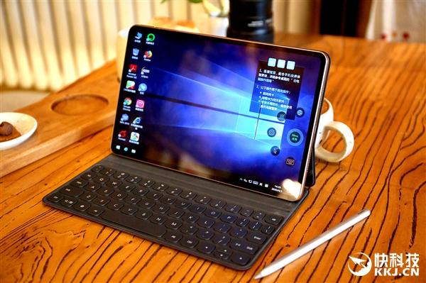 麒麟990 5G SoC、2K屏办公神器 华为MatePad Pro 5G丹霞橙图赏