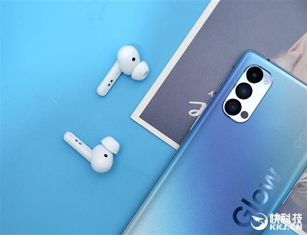 OPPO真无线蓝牙耳机Enco W51图赏:声援降噪 一周只需充一次电