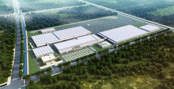 长城、宝马更进一步:光束汽车工厂正式打桩施工