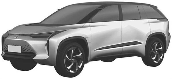 """丰田两款全新SUV曝光:造型硬朗拉风 流媒体""""后视镜"""" 隐藏式门把手"""