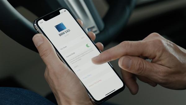 苹果iOS 14支持iPhone手机变身车钥匙:2021款BWM 5系首发