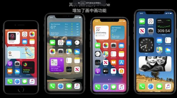 iOS 14幼组件被调侃:Windows Phone早已声援