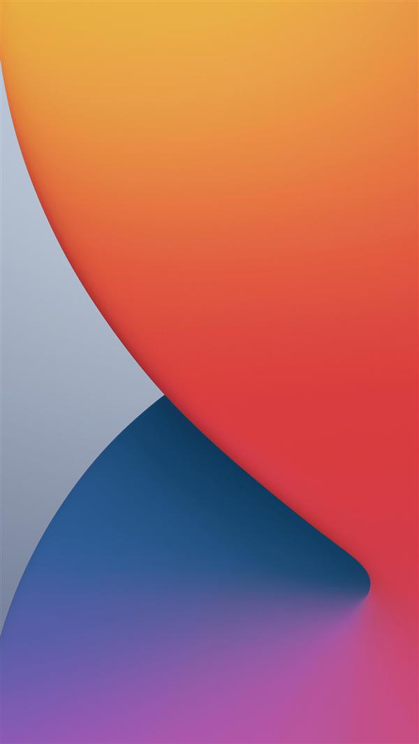 下载:iOS 14崭新高清壁纸