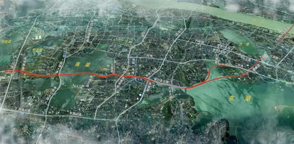 19000米!武汉开建世界最大城市湖底隧道 上下两层双向通车