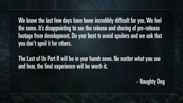 PS4压轴大作剧情翻车!玩家发起《最后的生还者2》重做请愿