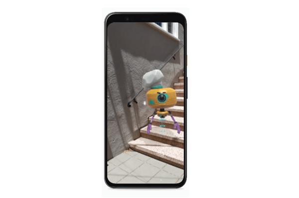 谷歌发布全新AR技术 单摄像头即可实现AR景深感应