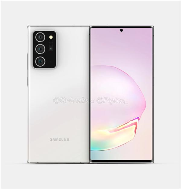 三星Galaxy Note 20 Ultra爆料:一亿像素主摄敲定