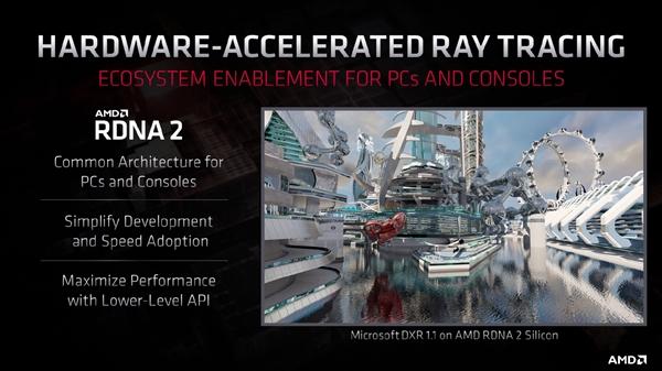 AMD急招光追人才:重点为RDNA2架构优化游戏