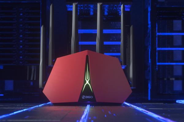 360新路由V5X开售:外接硬盘变NAS 支撑一键跨国游戏加快