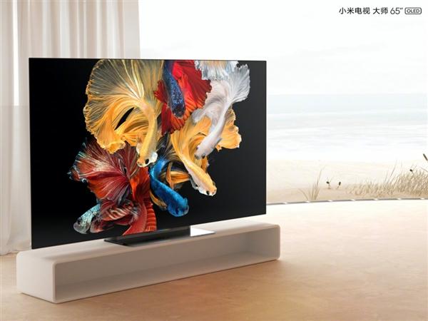 98.8%屏占比!幼米电视行家系列亮相:四窄边OLED屏、玻璃底座 呼吸灯