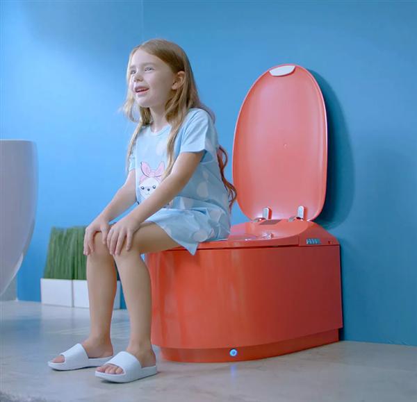 幼米有品开卖可升降智能马桶:人性化35°蹲姿如厕