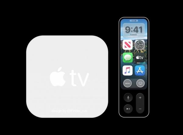 搭载A12X:苹果Apple TV 6概念图流出 遥控器带有表现屏