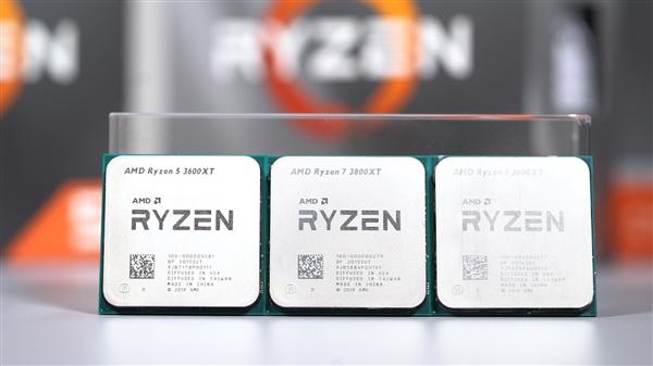 AMD超频神U!锐龙9 3900XT、锐龙7 3800XT鸡血版始发开箱!