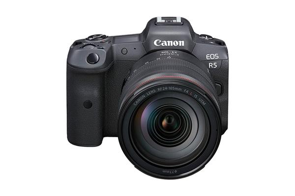 佳能发布EOS R5全画幅专微相机:首发8K录制、售价25999元