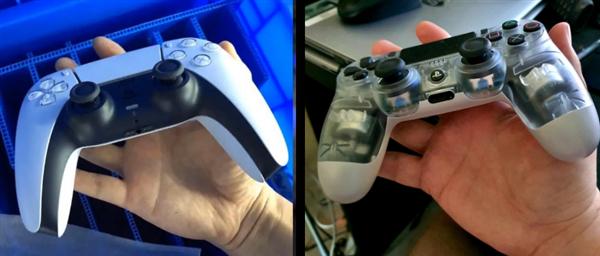PS5崭新手柄上手照曝光:幼手忧郁闷了、出乎预想的大