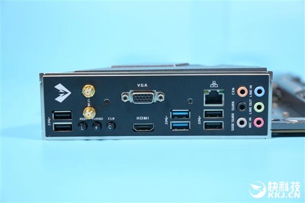 一键激活125W 声援Wi-Fi6 铭瑄iCraft B460M主板图赏