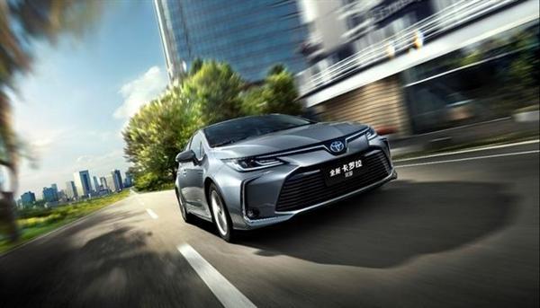 车机大升级!新款丰田卡罗拉售11.98万首:混动油耗仅4L