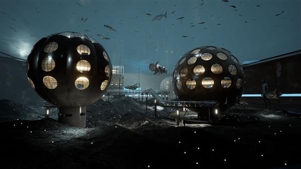 科幻FPS《原子之心》4K新截图 水来世界仿若梦境