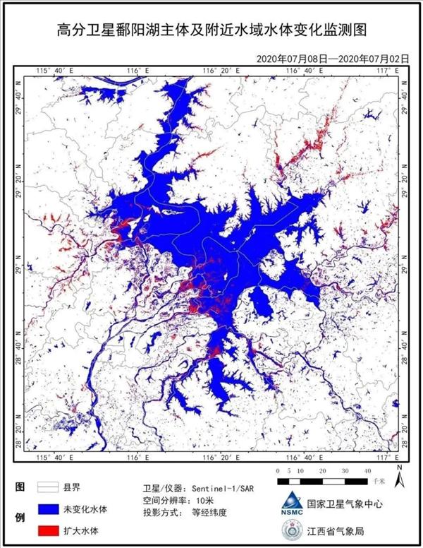 水位突破1998年极值:动车途径鄱阳湖近水走驶似轮渡