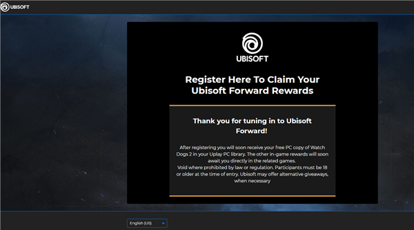 育碧重新盛开《望门狗2》免费领取:只要有Uplay账户就能0元薅