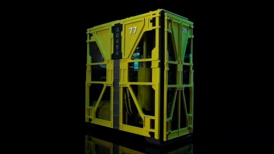 NVIDIA晒《赛博朋克2077》主题机箱:壕华配置、机身炫酷