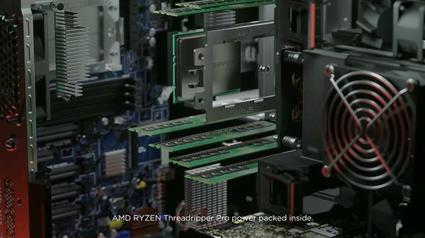 AMD正式发布线程扯破者PRO:一颗64中央秒杀两颗28中央