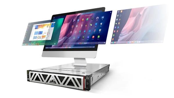 统信柔件发布服务器操作体系V20欧拉版:优化华为鲲鹏CPU