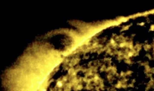 确定没搞错?UFO猎人宣称在太阳上找到外星人存在的证据