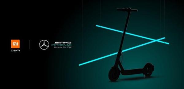 幼米联手奔驰AMG推出电动滑板车:300W强力电机双制动编制