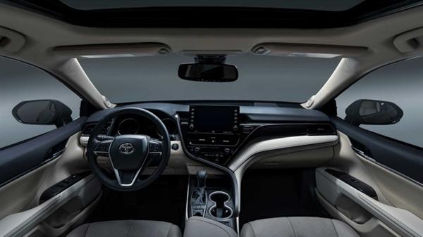 3.5L V6大排添持!丰田新款凯美瑞官图发布:坦然配置大添