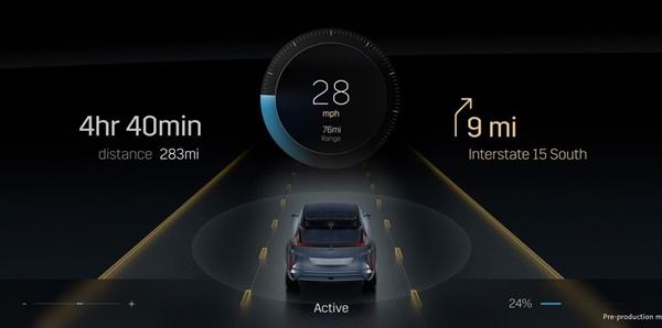凯迪拉克始款纯电动车将配备33英寸巨屏:分3个表现区 弧面OLED