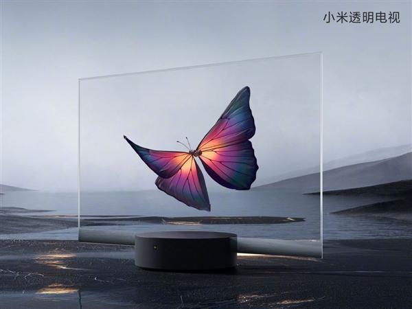 49999元!小米透明电视实机演示:科幻、震撼