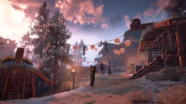 《地平线:黎明时分》带上你的武器来探索这机械化的生物吧