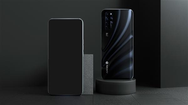 复兴AXON 20 5G真机公布:始款量产屏下摄像头技术的手机