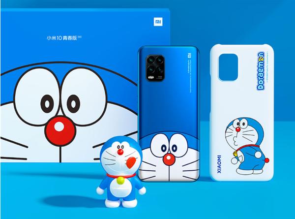 已绝版 小米10青春版哆啦A梦限定款售罄:2799元买到赚了