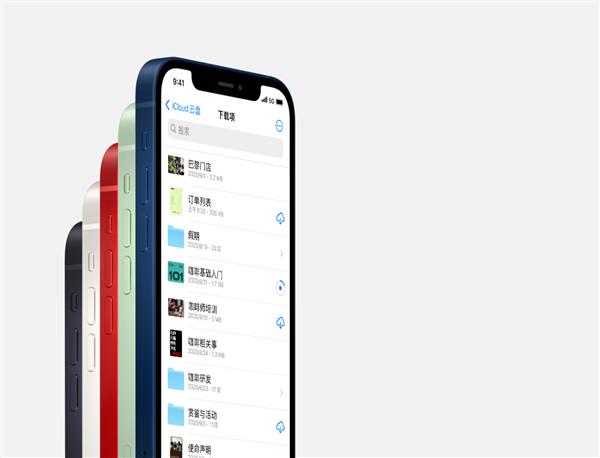 iPhone 12官方美图赏:海蓝色要卖爆的节奏