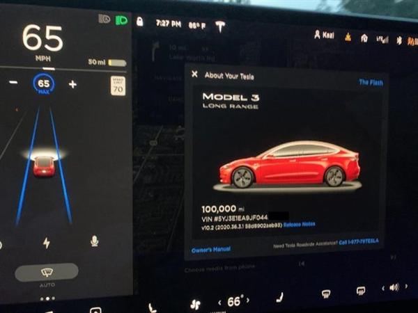 跑了16万公里的Model 3电池衰减多少?车主给出惊人答案