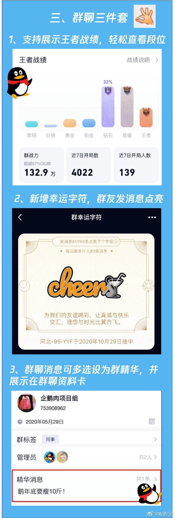 手机QQ8.4.17发布:群聊三件套来了 iOS另有独享功用