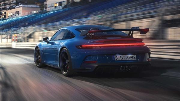 程度对置6缸+手行挡!崭新保时捷911 GT3发布 纽北圈速跑进7分大关