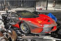 车库起火 80多辆世界级豪车烧成灰烬!损失数亿元