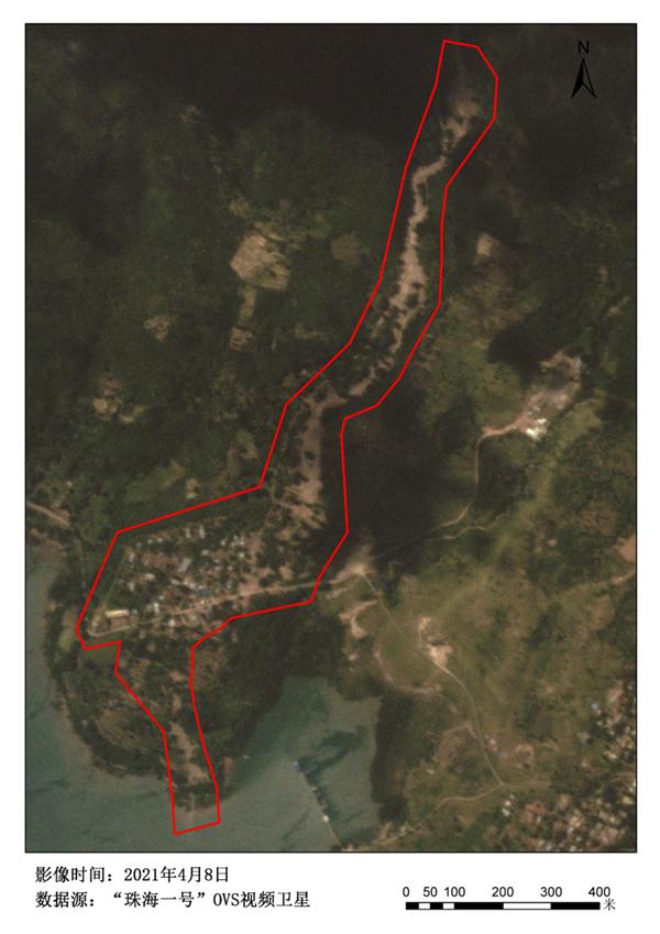 中国珠海一号卫星监测印尼洪灾:对比触目惊心